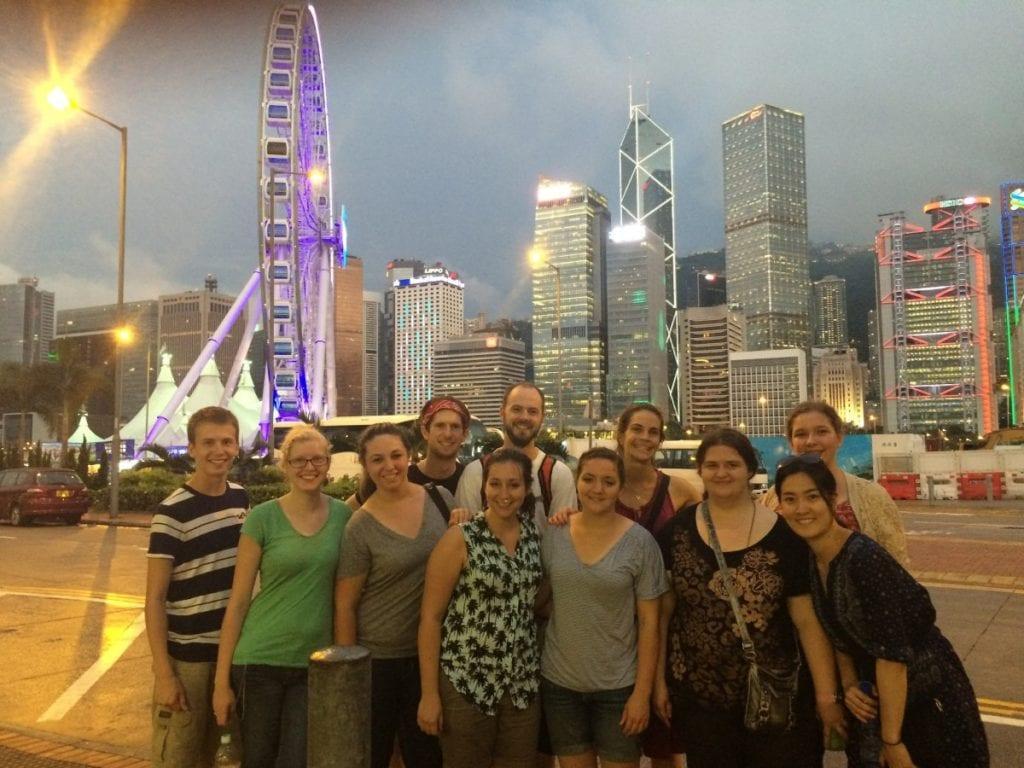 YWAM DTS mission trip to Hong Kong